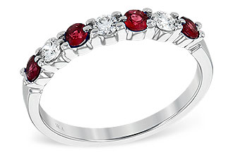 D185-80408: LDS WED RG .35 RUBY .55 TGW